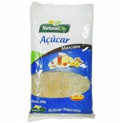 ACUCAR MASCAVO NATURAL LIFE 500g