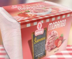 SORVETE KASCAO MORANGO PT 1.5l