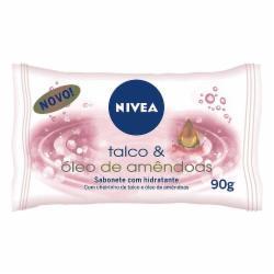 SAB.NIVEA TALCO OLEO AMENDOAS 85g
