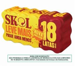 CERV.SKOL LT.350ml PROMO CX.18