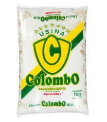 ACUCAR CRISTAL COLOMBO CARAVELAS 1kg