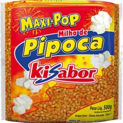 MILHO PIPOCA KISABOR MAXI POP 500g