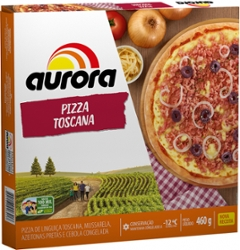 PIZZA AURORA TOSCANA 460g