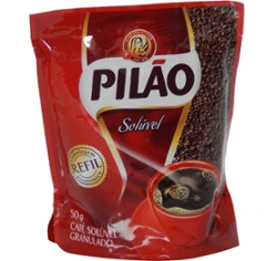 CAFE PILAO SOLUVEL STAND UP GRANULADO SC.50g