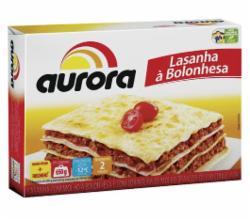 LASANHA AURORA BOLONHESA 600g