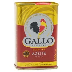 AZEITE OLIVA GALLO PURO LT 200ml
