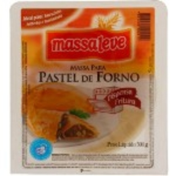 MASSA PASTEL MASSALEVE FORNO 300G