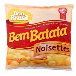 BATATA CONG.BEM BRASIL NOISETTES 400g