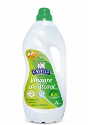 VINAGRE CASTELO ALCOOL 6% P/LIMP. 2l
