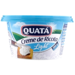 CREME RICOTA QUATA LIGHT 150g