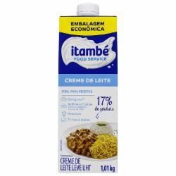 CREME DE LEITE ITAMBE 17% GORD.1.01kg