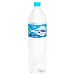 AGUA MINERAL CRYSTAL S/GAS 1.5l