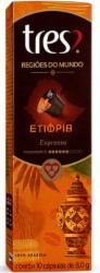 CAPS.CAFE 3 CORACOES REG.MUNDO ETIOPIA 8g C/10un