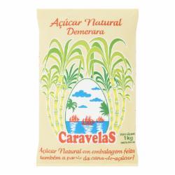 ACUCAR DEMERARA CARAVELAS 1kg