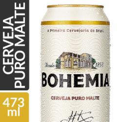 Cerveja Bohemia 473ml Lata