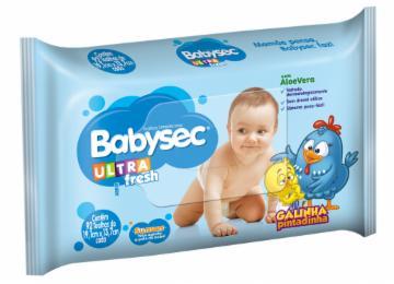 Toalha Umedecida Babysec Ultra Fresh com 92