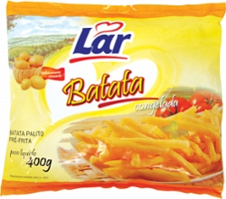 BATATA PRE-FRITA LAR 400G