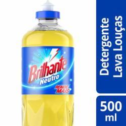 Detergente Líquido Brilhante 500ml Neutro