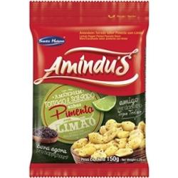 Amendoim Amindus 150g Pimenta com  Limão