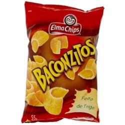 Salg Elma Chips Baconzitos 55g