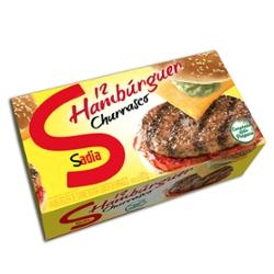 Hambúrguer Churrasco Sadia 672g