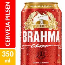 Cerveja Brahma 350ml Lata