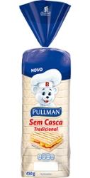 Pão Forma Pullman 450g sem Casca
