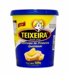 MANTEIGA TEIXEIRA 500G POTE S/SAL