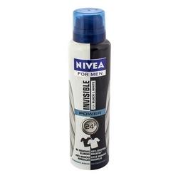 Desodorante Aero Nivea 150ml Masc Invisible Black White