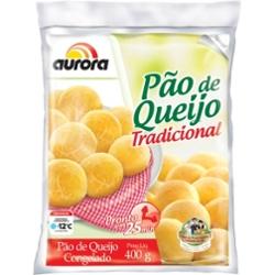 Pão de Queijo Aurora 400g Tradicional