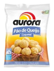 Pão de Queijo Aurora 1kg Coquetel