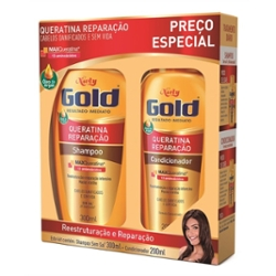 KIT NIELY GOLD SH 300ML COND 200ML NUTR PODEROSA