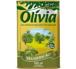 Oleo Comp Olivia 500ml Manjericao