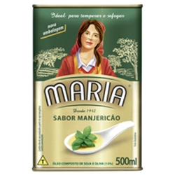 Oleo Comp Maria 500ml Manjericao