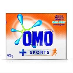 Lava Roupas Pó Omo Sports 900g