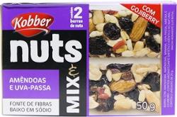 Barra Nuts Kobber 50g Amendoas E Uva Passas