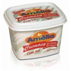 Margarina Amelia 500g com Manteiga com Sal