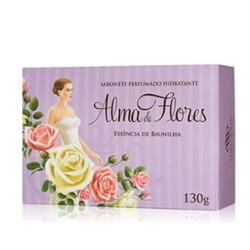 Sabonete Alma de Flores 130g Baunilha