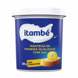 Manteiga Itambe 500g Pote com Sal
