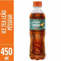 Chá Leão Ice Tea 450ml Pêssego