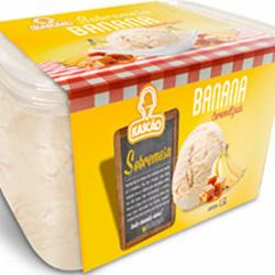 Sorvete Kascao 1.5l Banana