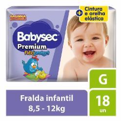 FRALDA BABYSEC PREMIUM JUMBINHO G C/18