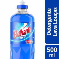 Detergente Líquido Brilhante 500ml Fresh