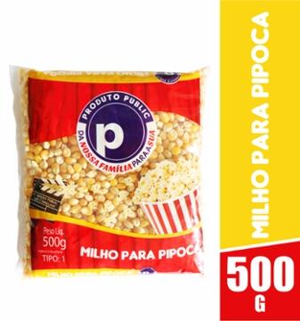 Milho de Pipoca Public 500g