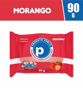 Sabonete Public 90g Morango