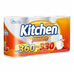 Papel Toalha Kitchen Leve 360 Pague 330 folhas