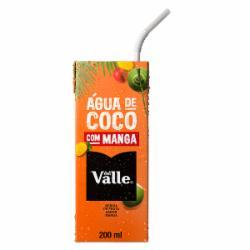 Agua de Coco Del Valle 200ml Manga