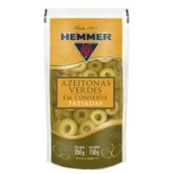 Azeitona Verde Hemmer Fat 150g Sache