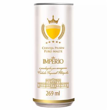 Cerveja Império 269ml Pilsen Lata