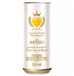 Cerveja Pilsen Império 269ml Lata